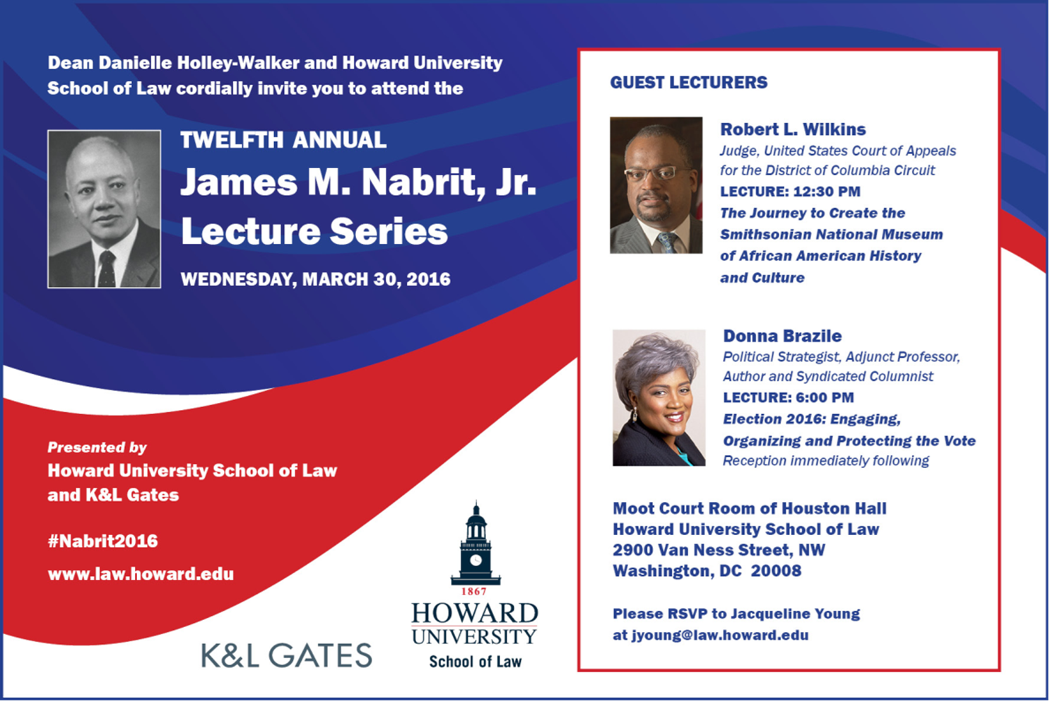 Twelfth Annual James Nabrit, Jr. Lecture Series